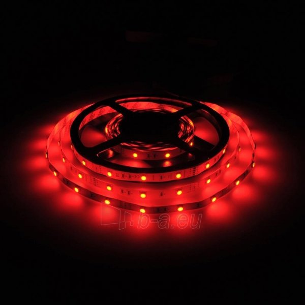Whitenergy LED juosta 5m   30vnt/m   5050   7.2W/m   12V DC   RGB   be jungties Paveikslėlis 5 iš 7 310820049438
