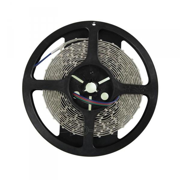 Whitenergy LED juosta 5m | 3528 | 4.8W/m | 12V DC | RGB Paveikslėlis 8 iš 10 310820049442