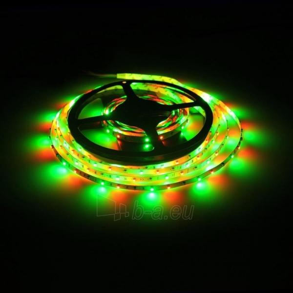 Whitenergy LED juosta 5m | 3528 | 4.8W/m | 12V DC | RGB Paveikslėlis 5 iš 10 310820049442
