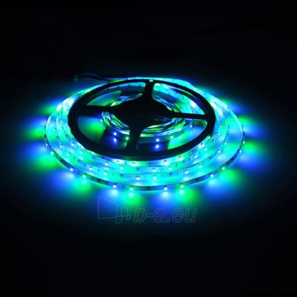 Whitenergy LED juosta 5m | 3528 | 4.8W/m | 12V DC | RGB Paveikslėlis 3 iš 10 310820049442