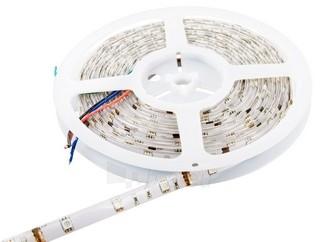 Whitenergy LED juosta atsapri vandeniui 5m | 30vnt/m | 5050| 7.2W/m| 12V DC| RGB Paveikslėlis 1 iš 7 310820049439