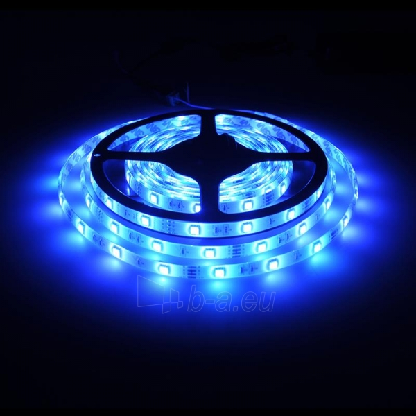 Whitenergy LED juosta atsapri vandeniui 5m | 30vnt/m | 5050| 7.2W/m| 12V DC| RGB Paveikslėlis 6 iš 7 310820049439