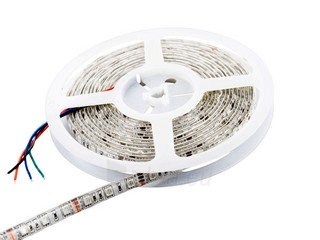 Whitenergy LED juosta atsapri vandeniui 5m | 60vnt/m| 5050| 14.4W/m| 12V DC| RGB Paveikslėlis 1 iš 7 310820049434