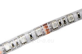 Whitenergy LED juosta atsapri vandeniui 5m | 60vnt/m| 5050| 14.4W/m| 12V DC| RGB Paveikslėlis 2 iš 7 310820049434