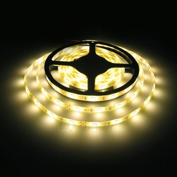 Whitenergy LED juosta atspari vandeniui 5m | 30vnt/m| 5050| 7.2W/m| šilta balta Paveikslėlis 4 iš 4 310820049433