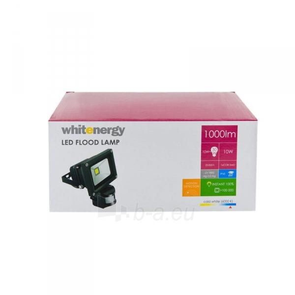 Whitenergy LED Lauko šviestuvas 10W | 6000K | 1000lm | IP66 | judesio jutiklis Paveikslėlis 2 iš 5 310820049319