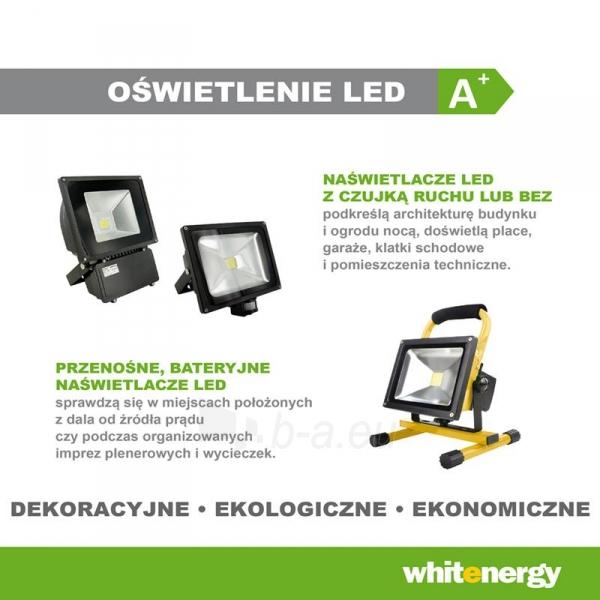 Whitenergy LED Lauko šviestuvas 10W | 6000K | 1000lm | IP66 | judesio jutiklis Paveikslėlis 5 iš 5 310820049319