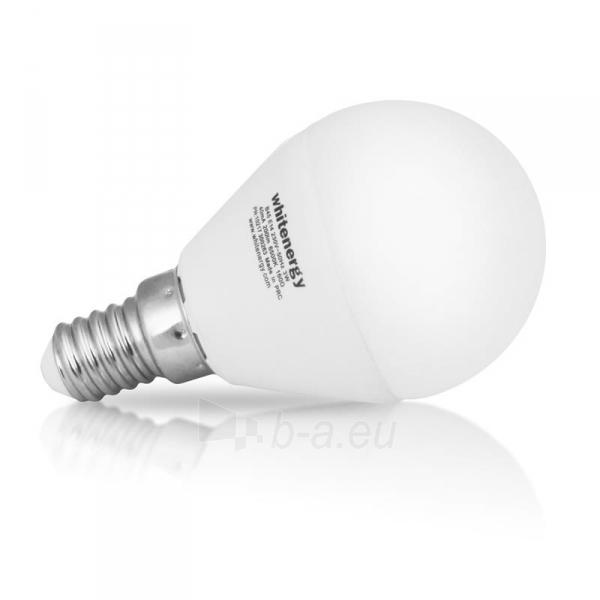 Whitenergy LED lemputė | 7xSMD2835| B45 | E14 | 3W | 230V | šalta balta | pienas Paveikslėlis 3 iš 6 310820049366