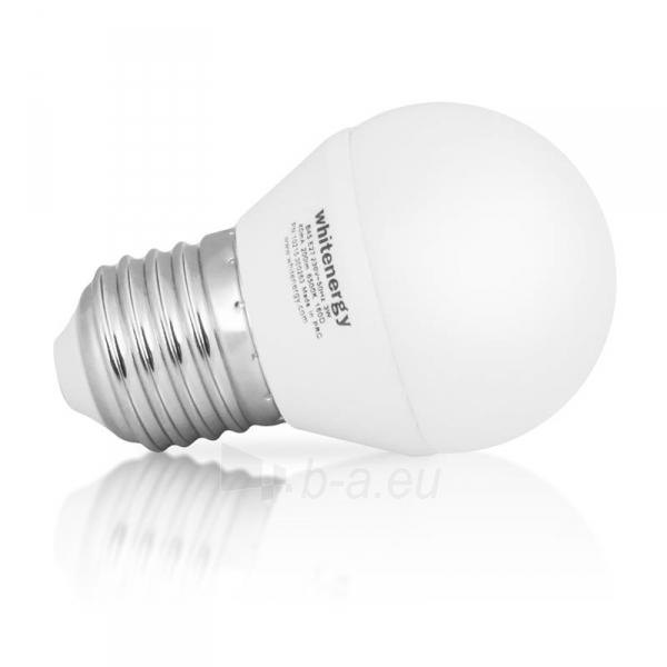 Whitenergy LED lemputė | 7xSMD2835| B45 | E27 | 3W | 230V | šalta balta | pienas Paveikslėlis 3 iš 6 310820049364