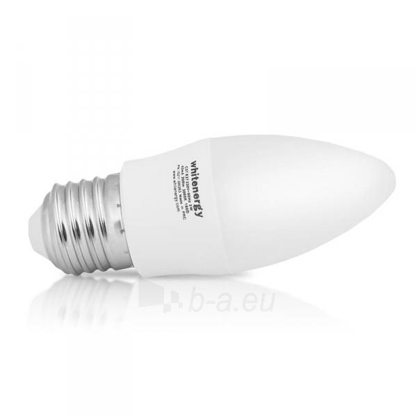 Whitenergy LED lemputė | 7xSMD2835| C37 | E27 | 3W | 230V | šalta balta | pienas Paveikslėlis 3 iš 6 310820049361