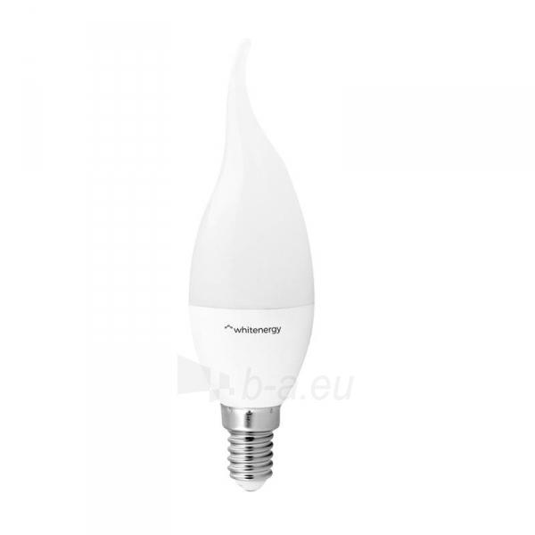 Whitenergy LED lemputė   8xSMD2835  C37L  E14   7W   230V   šilta balta   pienas Paveikslėlis 1 iš 4 310820103021