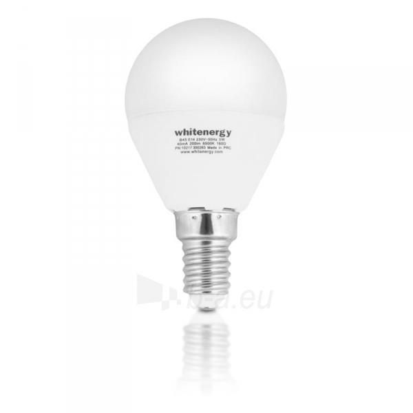 Whitenergy LED lemputė |10xSMD2835| B45 | E14 | 5W | 230V | šalta balta | pienas Paveikslėlis 2 iš 6 310820049367