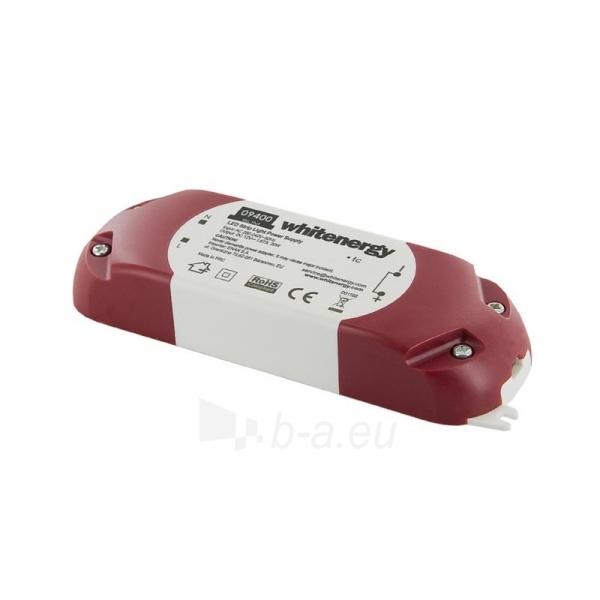 Whitenergy LED maitinimo šaltinis Slim 230V|20W|12V Paveikslėlis 1 iš 4 224126000340