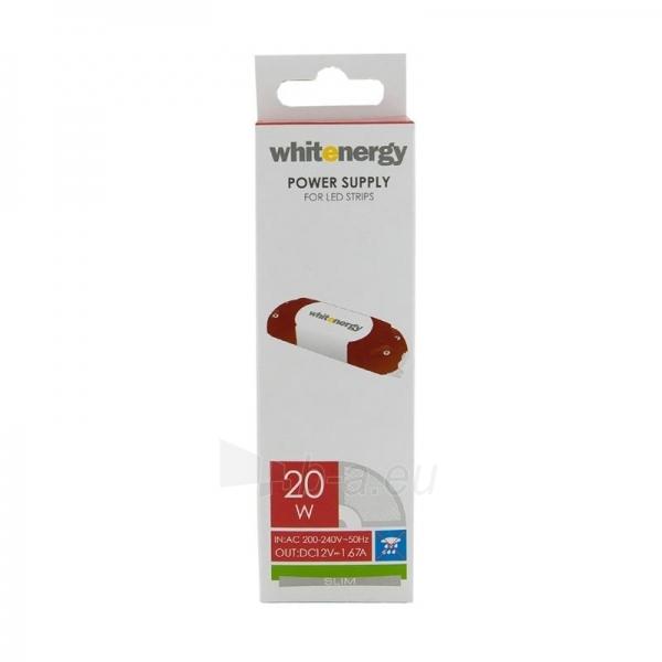 Whitenergy LED maitinimo šaltinis Slim 230V|20W|12V Paveikslėlis 2 iš 4 224126000340