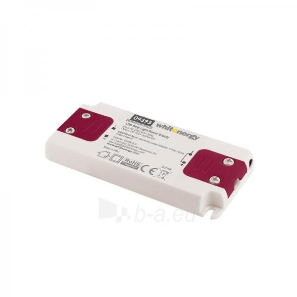 Whitenergy LED maitinimo šaltinis Ultra Slim 230V| 6W | 12V| vidinis Paveikslėlis 1 iš 4 224126000343