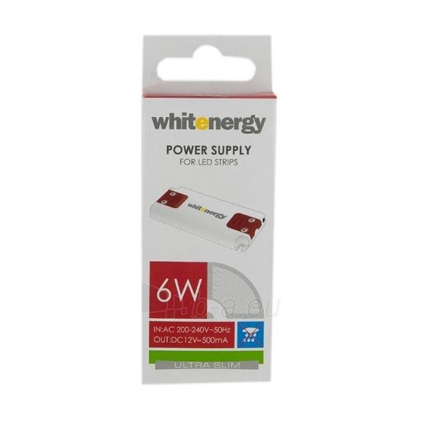 Whitenergy LED maitinimo šaltinis Ultra Slim 230V| 6W | 12V| vidinis Paveikslėlis 2 iš 4 224126000343