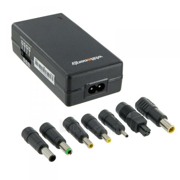 Whitenergy univer. tink. neš. komp. mait. šaltinis 15-24V, 70W, USB Paveikslėlis 1 iš 5 250256401166