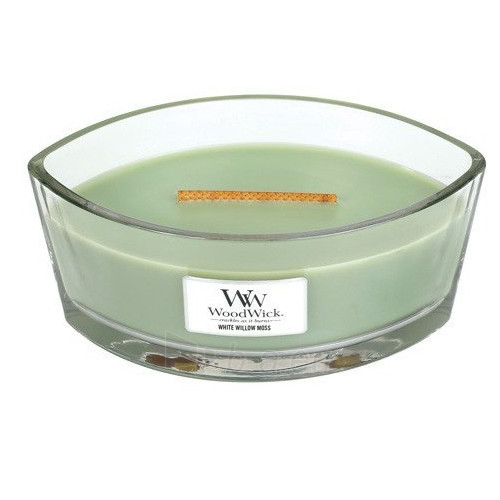 WoodWick Scented candle boat White Willow Moss 453 g Paveikslėlis 1 iš 1 310820209066