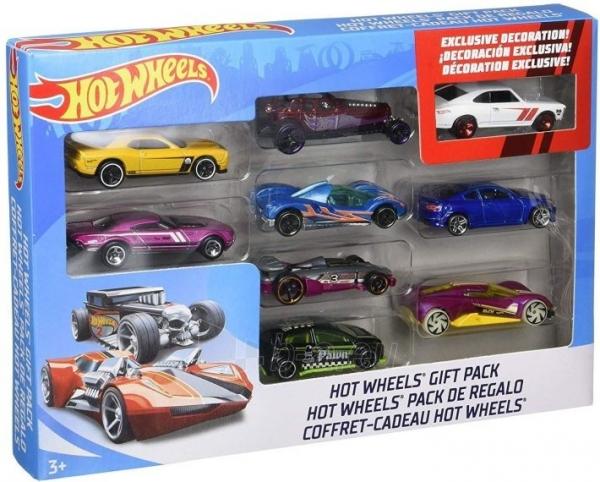 X6999 Mattel Hot Wheels Car Model 1: 64 MIX 9 GAB Paveikslėlis 1 iš 2 310820252864