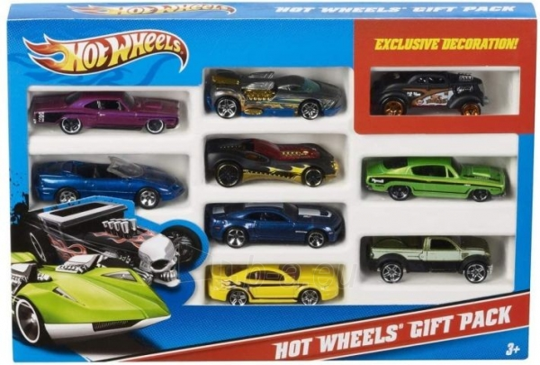 X6999 Mattel Hot Wheels Car Model 1: 64 MIX 9 GAB Paveikslėlis 2 iš 2 310820252864