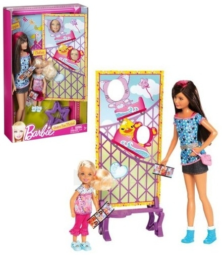 X9069 / X8401 Mattel Barbie Skipper and Chelsea Paveikslėlis 1 iš 1 250710900662