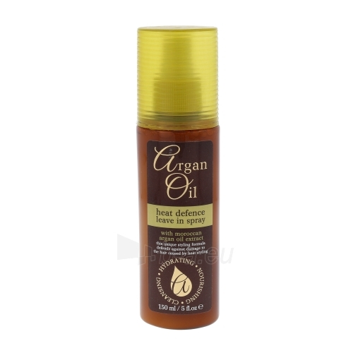 Xpel Argan Oil Heat Defence Leave In Spray Cosmetic 150ml Paveikslėlis 1 iš 1 310820040451