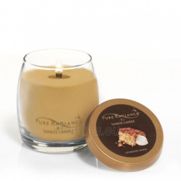 """Yankee Candle kvepianti žvakė """"Cinnamon Scone Pure Radiance"""", 283 g. Paveikslėlis 1 iš 3 30119400006"""