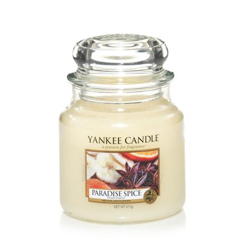 """Yankee Candle kvepianti žvakė """"Paradise Spice"""", 411 g. Paveikslėlis 1 iš 2 30119400008"""