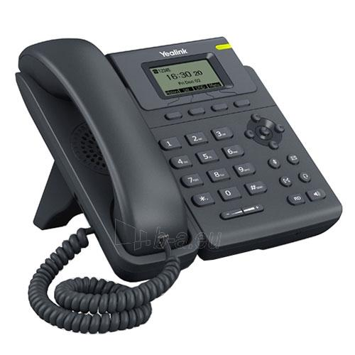 Yealink SIP-T19P E2 IP Phone, Yealink HD Voice, 132x64-pixel graphical LCD, Single VoIP account two-port 10/100 Ethernet Switch, PoE support, Full-duplex speakerphone, headset support, wall mountable. Paveikslėlis 1 iš 1 310820004365