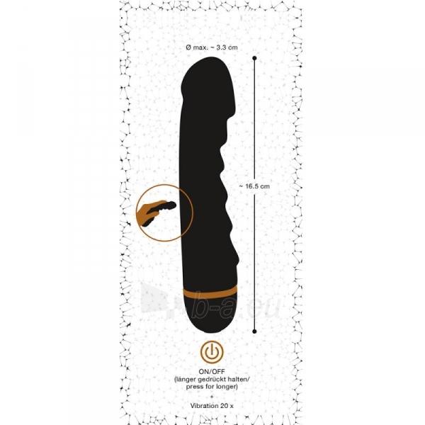 You2Toys Bendy vibratorius (juodas) Paveikslėlis 3 iš 8 310820188754