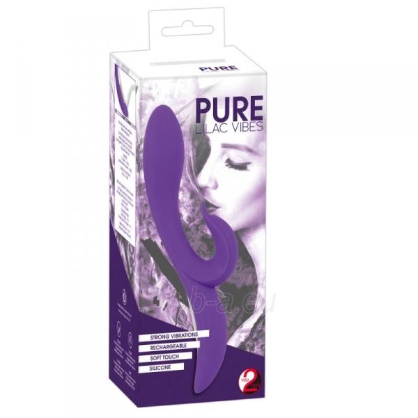 You2Toys vibratorius Smarkuolis (purpurinis) Paveikslėlis 1 iš 8 310820188755