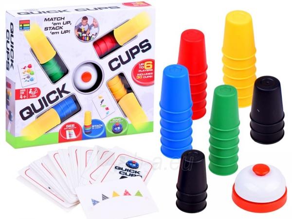 """Žaidimas """"Quick Cups"""" Paveikslėlis 1 iš 1 310820251594"""