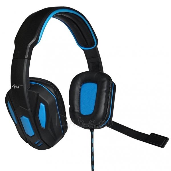 Žaidimų ausinės ART X1 su mikrofonu Paveikslėlis 1 iš 10 250255091258