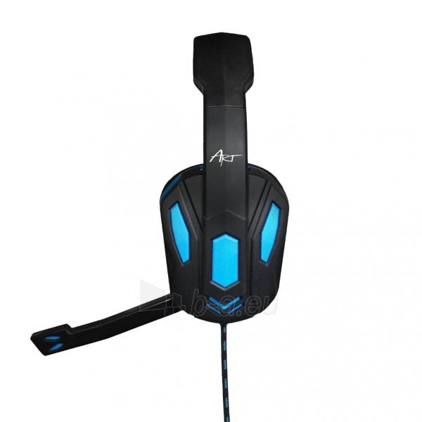 Žaidimų ausinės ART X1 su mikrofonu Paveikslėlis 8 iš 10 250255091258