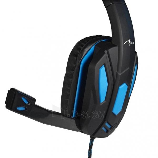 Žaidimų ausinės ART X1 su mikrofonu Paveikslėlis 5 iš 10 250255091258