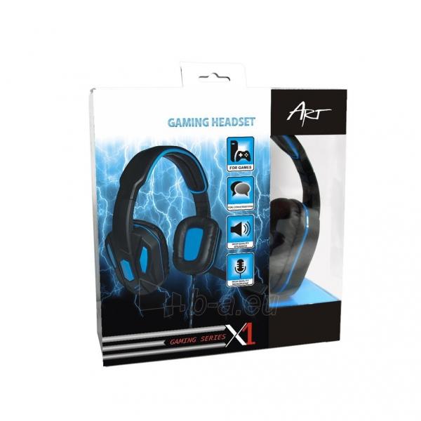 Žaidimų ausinės ART X1 su mikrofonu Paveikslėlis 10 iš 10 250255091258