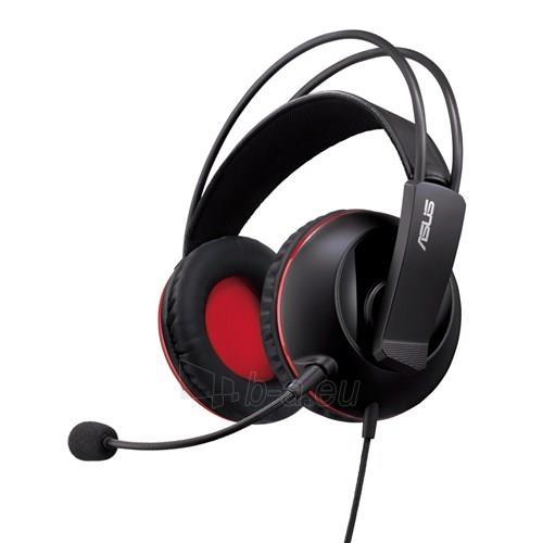 Žaidimų ausinės ASUS CERBERUS, 32 Ohm, juodos Paveikslėlis 1 iš 4 250255091381
