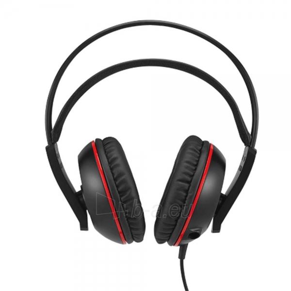 Žaidimų ausinės ASUS CERBERUS, 32 Ohm, juodos Paveikslėlis 2 iš 4 250255091381