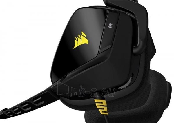 Žaidimų ausinės Corsair VOID, PC/Mac/PlayStation4/XboxOne - juodos Paveikslėlis 3 iš 4 250255091259