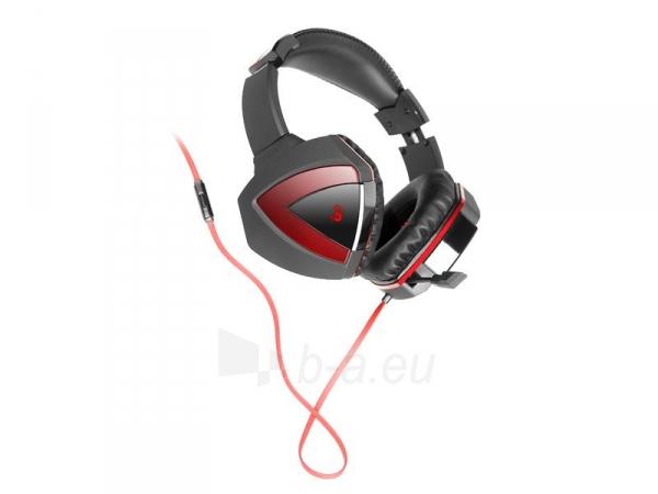 Žaidimų ausinės su mikrofonu A4-Tech G500 Stereo Paveikslėlis 2 iš 3 250255090946