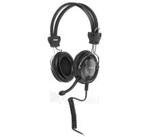 Žaidimų ausinės su mikrofonu A4-Tech HS-19-1 Paveikslėlis 1 iš 4 250255090948