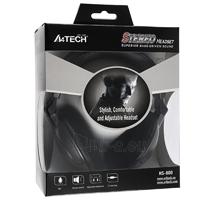 Žaidimų ausinės su mikrofonu A4-Tech HS-800 Paveikslėlis 4 iš 4 250255091014