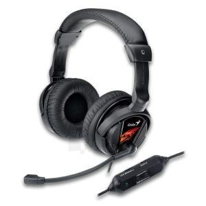 Žaidimų ausinės su mikrofonu Genius Game HS-G500V, Su vibracijos funkcija Paveikslėlis 1 iš 1 250255090955