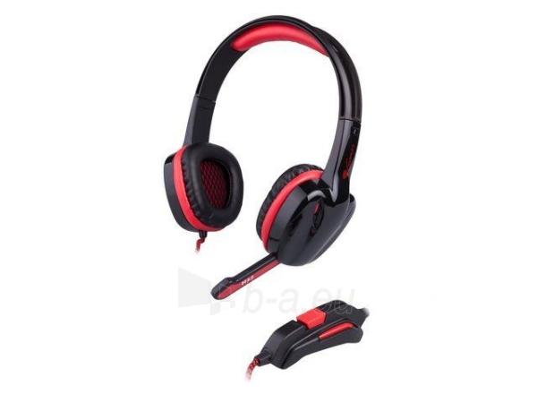 Žaidimų ausinės su mikrofonu Natec Genesis H22, 2 x Mini Jack 3.5mm Paveikslėlis 1 iš 6 250255090965