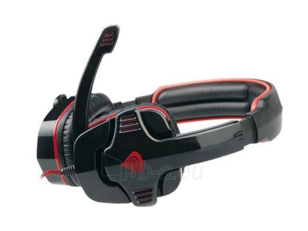 Žaidimų ausinės su mikrofonu Natec Genesis HX66 Virtual 7.1, USB Paveikslėlis 3 iš 7 250255090970