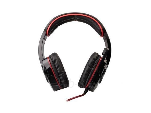 Žaidimų ausinės su mikrofonu Natec Genesis HX66 Virtual 7.1, USB Paveikslėlis 5 iš 7 250255090970