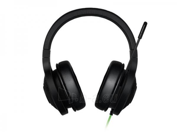 Žaidimų ausinės su mikrofonu Razer Kraken USB, 32mm, 20-20000Hz, 7.1 Virtual Paveikslėlis 1 iš 6 250255090983