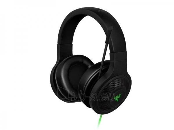 Žaidimų ausinės su mikrofonu Razer Kraken USB, 32mm, 20-20000Hz, 7.1 Virtual Paveikslėlis 4 iš 6 250255090983