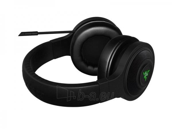 Žaidimų ausinės su mikrofonu Razer Kraken USB, 32mm, 20-20000Hz, 7.1 Virtual Paveikslėlis 5 iš 6 250255090983