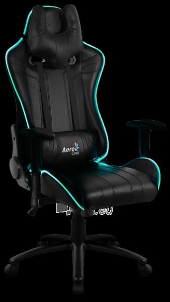 Žaidimų kėdė Aerocool AC-120 AIR RGB / Juoda Paveikslėlis 1 iš 15 310820172989